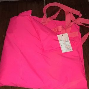 Victoria's Secret yoga or beach blanket Duffel bag